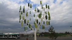"Man-made ""wind trees"" will finally make it possible to power homes using turbines - wind trees"