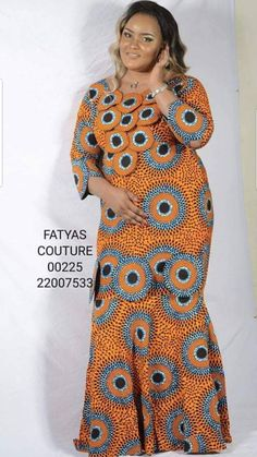 Merci African Fashion Ankara, Latest African Fashion Dresses, African Print Fashion, Africa Fashion, Long African Dresses, African Print Dresses, African Attire, African Wear, African Fashion Traditional