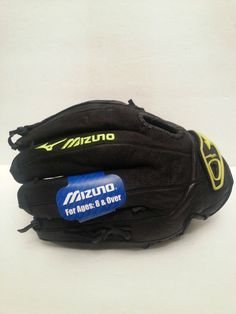 Mizuno Gpl Power Close Black Softball Left Glove New With Tags Softball Equipment, Fastpitch Softball, Hobbies, Gloves, Tags, Black, Black People, Mailing Labels