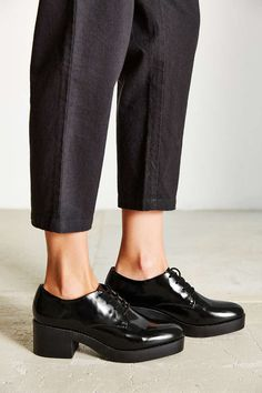 Silence + Noise Chunky Lace-Up Oxford - Urban Outfitters
