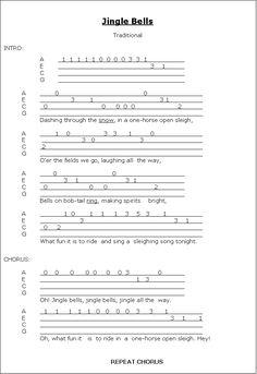 christmas carols ukulele