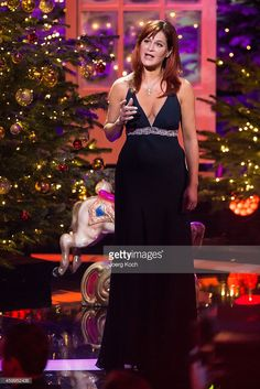 Andrea Berg attends the TV show 'Die schönsten Weihnachtshits' on December 4, 2014 in Munich, Germany.
