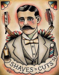 Placa decorativa Barbearia 101 - PLACASPRINT