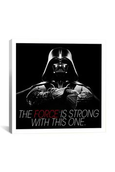 Canvas Print: Darth Vader