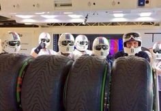 Williams stormtroopers - 2014 Australian GP