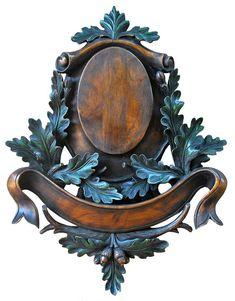 Podložka pod trofej na seříznute lebce BELLEGARDE 538 C Sculpture Art, Sculptures, Taxidermy Decor, Rustic Log Furniture, Deer Mounts, Wood Mantels, Art Carved, Faux Painting, Wood Wall Decor