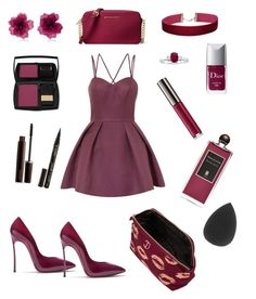 """""""My#38"""" by shemilys2-1 on Polyvore featuring Chi Chi, Casadei, Miss Selfridge, Matthew&Melka, Christian Dior, Chantecaille, Serge Lutens, Lancôme, Laura Mercier and Smith & Cult"""