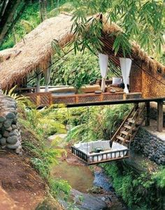 Peaceful place to read a book