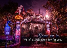 Jack Skellington gives the Haunted Mansion a holiday makeover that is sure to delight and fright even the foulest fiends this Halloween Time!