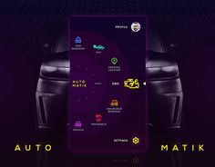"Check out new work on my @Behance portfolio: ""Auto Matik Menu Screen Design"" http://be.net/gallery/48063295/Auto-Matik-Menu-Screen-Design"