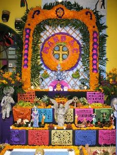 Día de los Muertos is on November 2nd, with celebrations beginning on November 1, (Día de Muertos Chiquitos--The Day of the Little Dead) ( also All Saints Day) and continuing on November 2, (All Souls Day). It is a joyous occasion when the memory of ancestors and the continuity of life is celebrated, and a beloved holiday in Mexico and South America.