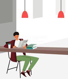 SILL247, 프리진, 일러스트, 사람, 생활, 독서, 라이프, 벡터, 에프지아이, 캐릭터, 나무, 은행잎, 은행나무, 식물, 전신, 모던, 모던한, 심플한, 심플, 가을, 독서의계절, 계절, 취미, 풍경, 책, 읽고있는, 공부, 여유, 취미생활, 여유있는, 미소, 행복, 테이블, 의자, 탁자, 커피, 스탠드, 조명, 남자, 1인, 앉아있는, illust, illustration #유토이미지 #프리진 #utoimage #freegine 20080887