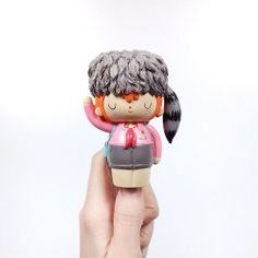 Toy a day, @Kate Roozeboom HQ doll Olive. #toy #toyaday #collection #momiji #cute #designertoy