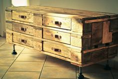 Pallet Chest Of Six Drawers | 99 Pallets