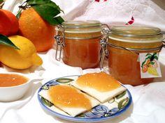 citruses jam with cinnamon,  marmellata di agrumi e cannella.