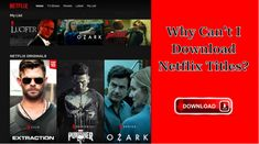 It will tell you some limits of why some Netflix cannot be downloaded and also introduce a way to deal with the download problem. Netflix Titles, Netflix Videos, Netflix App, Netflix Home, Get Netflix, Netflix Movies, Amazon Fire Tablet, Folder Icon