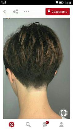 Layered-Hair-Back-View Best Short Haircuts for frisuren frauen frisuren männer hair hair styles hair women Best Short Haircuts, Short Hairstyles For Women, Bob Hairstyles, Office Hairstyles, Anime Hairstyles, Stylish Hairstyles, Hairstyles Videos, School Hairstyles, Layered Haircuts