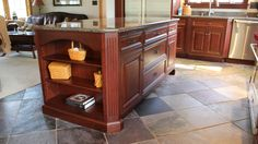 Absolutely exquisite custom cabinets by Creation Cabinetry in Sunbury, Pennsylvania.