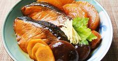 話題入&H26/1/29ピックアップ掲載大感謝です✿静岡県伊豆の金目鯛姿煮を参考にした濃厚味の簡単ぶり大根です✿