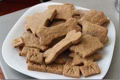 For the puppies, peanut butter biscuits.  Safe for the kids to eat too.