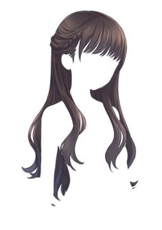 I know this is cartoon hair but the style would work irl too
