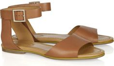 5. See by #Chloé Leather Sandals - 9 #Stylish and Most Versatile #Sandals for Summer ... → #Shoes #Leather