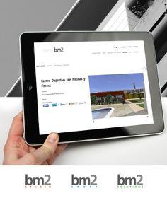 Una captura de la categoria localización de la web del estudio de arquitectura e ingenieria bm2.