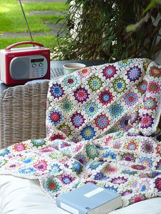 Ravelry: bunnyknitter's one-a-day blanket