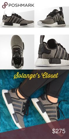 ADIDAS NMD R1 SNEAKERS -100% AUTHENTIC COMES WITH BOX!  -BEFORE YOU BUY NMDs (MINE OR ANOTHER SELLER'S) PLEASE WATCH A VIDEO ON YOUTUBE TO EDUCATE YOURSELF ON HOW TO TELL THE DIFFERENCE BETWEEN AUTHENTIC NMDs VS. REPLICAS. A 60 second video can help prevent you from getting scammed! I have seen so many people buy replicas of these on here and Merc Educate yourself before you spend hundreds on these shoes!   NO TRADES- I bought these in a 6.5 and 5.5, the 6.5 worked better for me. This is…