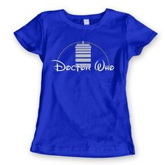 Doctor Who TV Show Magic Kingdom Tardis Womens Shirt Medium Royal Blue USA Screenprint Direct,http://www.amazon.com/dp/B00EOV0V5U/ref=cm_sw_r_pi_dp_b8Jusb0G1XK7FRHD