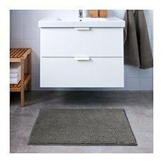 TOFTBO Bademåtte, grå - IKEA