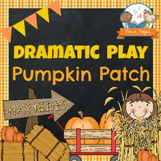 Dramatic Play Pumpkin Patch Printable Kit