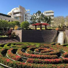 The Getty Center in Los Angeles is a must see if you are visiting LA. The garden and the art will amaze you with its beauty and history.