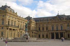 Würzburg Residenz and Cour d'honneur