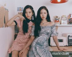 GFriend in Marie Claire Korea February 2019 Kpop Girl Groups, Korean Girl Groups, Kpop Girls, Marie Claire, Extended Play, Editorial Photography, Fashion Photography, Sinb Gfriend, Korean Entertainment