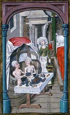 Illuminated Manuscripts - Bath House.