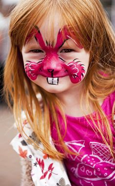Easter Bunny Makeup Ideas | easter bunny face painting