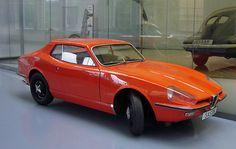 Saab Catherina Prototype (1964) mise en concurrence avec la Saab MFI13 pour la future Sonett II
