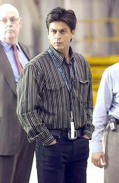 SRK on the sets of Swades