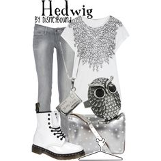 """Hedwig"" by lalakay on Polyvore"