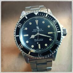 Latest find...1971 ROLEX Submariner #5513 with original #9315 bracelet and beautiful matching original Tritium dial and hands.
