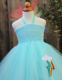 Rainbow dash Costume Rainbow Dash Dress My Little by BloomsNBugs, $59.00