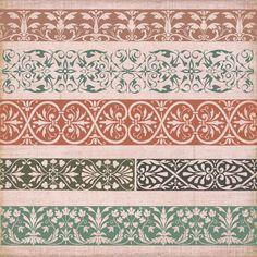 Vintage Borders  Ornaments