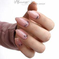 Pink gel short oval nails design, acrylic short oval nails design for s Oval Nails, Nude Nails, Glitter Nails, Acrylic Nails, Prom Nails, Wedding Nails, Long Nails, Minimalist Nails, Spring Nail Art