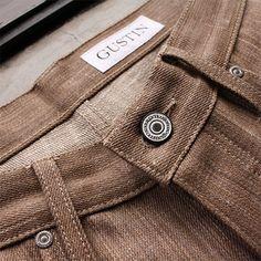 Gustin - #139 BROWN ORGANIC HEMP jeans