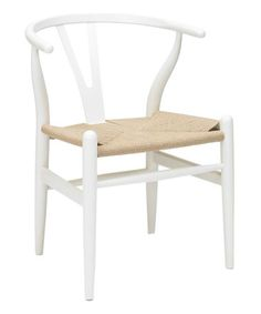 Take a look at this White Ming Chair - Set of Two by Volo on #zulily today!