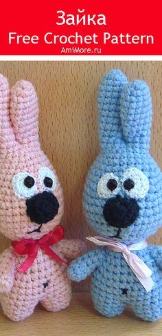 PDF Зайка крючком. FREE crochet pattern; Аmigurumi animal patterns. Амигуруми схемы и описания на русском. Вязаные игрушки и поделки своими руками #amimore - заяц, зайчик, кролик, зайчонок, зайка, крольчонок, rabbit, hare, bunny, liebre, conejito, coelhinho, lebre, lièvre, lapin, hase, zając. Amigurumi doll pattern free; amigurumi patterns; amigurumi crochet; amigurumi crochet patterns; amigurumi patterns free; amigurumi today.