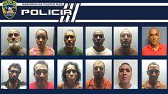 Drogas Fajardo arresta 12 personas luego de vigilancia a punto de drogas