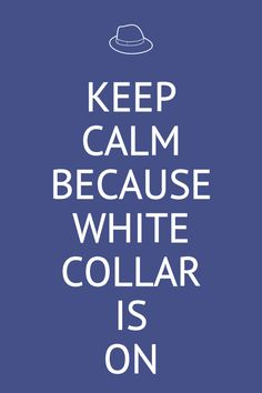 White Collar is back!!