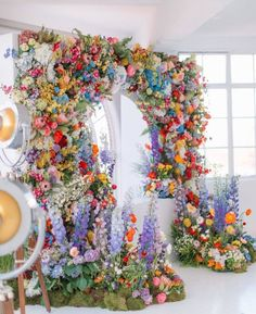 A Room With A VIEW Floral Arch created by Veevers Carter. Image Courtesy of Holly Clark Photography. Ibiza Wedding, Dallas Wedding, Floral Wedding, Wedding Colors, Wedding Flowers, Dream Wedding, Flower Wall Wedding, Star Wedding, Happy Friday
